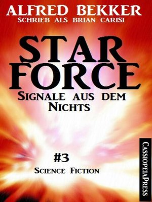 cover image of Brian Carisi--Star Force 3