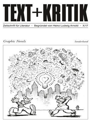 cover image of TEXT + KRITIK Sonderband--Graphic Novels