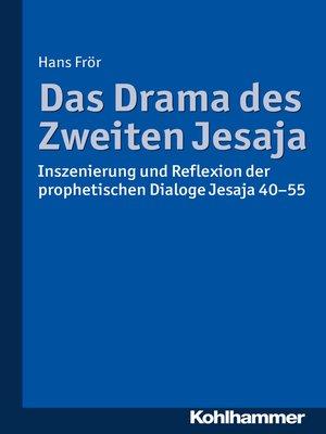 cover image of Das Drama des Zweiten Jesaja