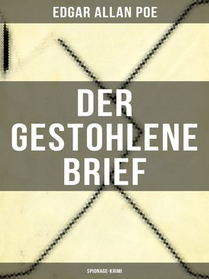 cover image of Der gestohlene Brief