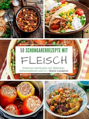 cover image of 50 Schongarerrezepte mit Fleisch