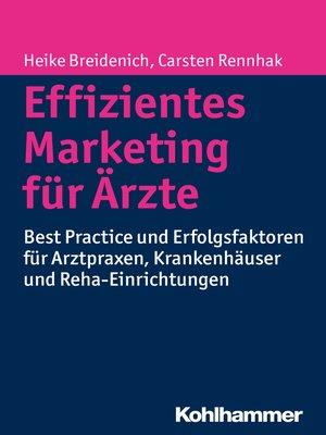 cover image of Effizientes Marketing für Ärzte