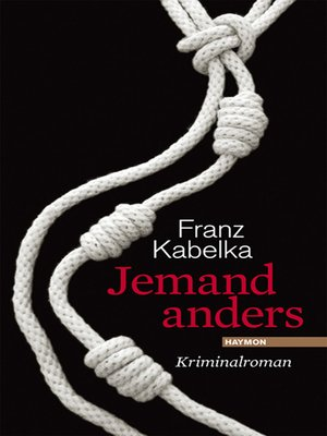 cover image of Jemand anders