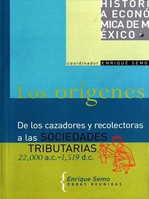 cover image of Los orígenes