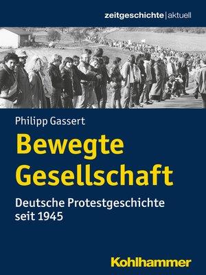 cover image of Bewegte Gesellschaft