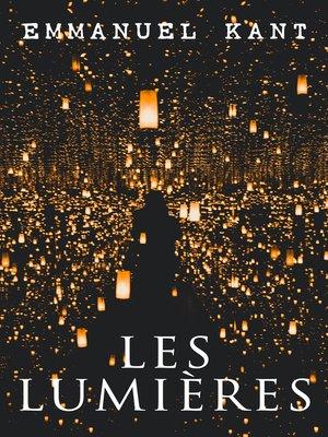 cover image of Les Lumières