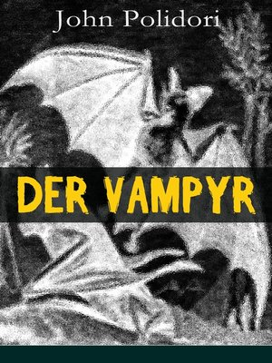 cover image of Der Vampyr