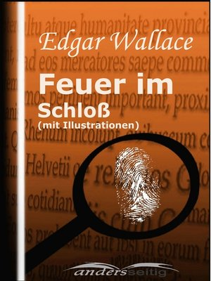 cover image of Feuer im Schloß (mit Illustrationen)
