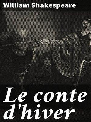 cover image of Le conte d'hiver