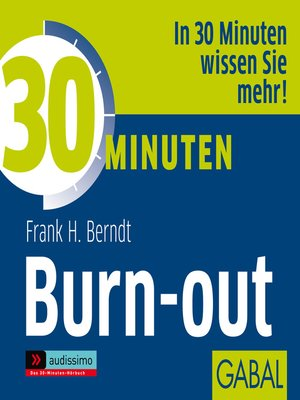cover image of 30 Minuten Burn-out