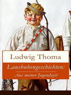 cover image of Lausbubengeschichten