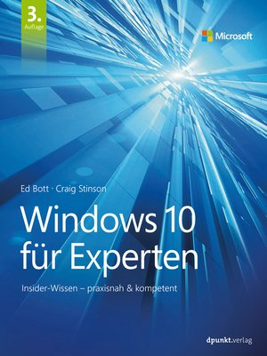cover image of Windows 10 für Experten