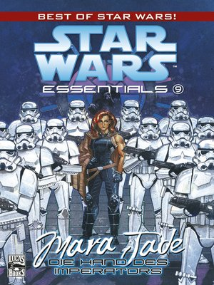 cover image of Star Wars Essentials, Band 9--Mara Jade--Die Hand des Imperators