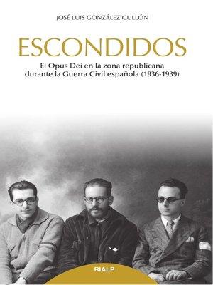 cover image of Escondidos