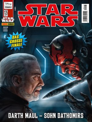 cover image of Star Wars Comicmagazin, Band 125--Darth Maul--Sohn Datomirs 2