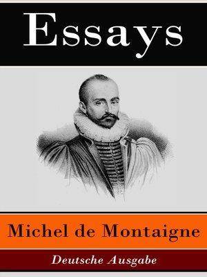 cover image of Essays--Deutsche Ausgabe