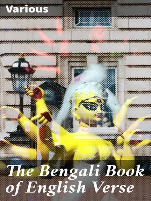 cover image of The Bengali Book of English Verse