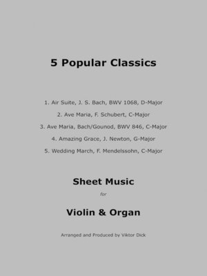 cover image of 5 Popular Classics