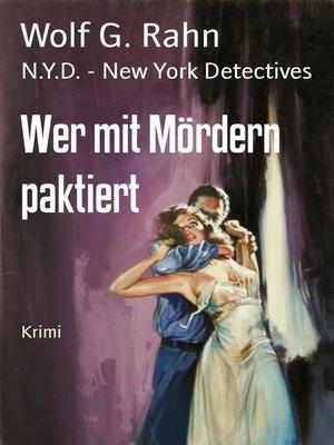 cover image of Wer mit Mördern paktiert