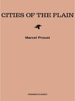 cover image of Cities of the Plain (Sodom and Gomorrah)