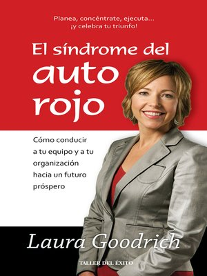 cover image of El síndrome del auto rojo