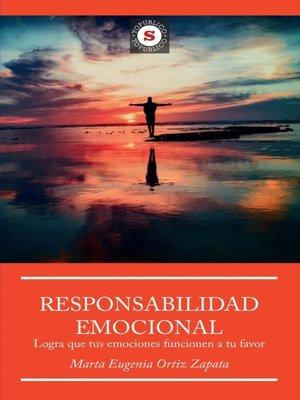 cover image of Responsabilidad Emocional