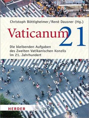 cover image of Vaticanum 21