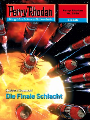cover image of Perry Rhodan 2449
