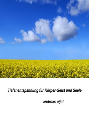 cover image of Tiefenentspannung