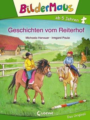 cover image of Bildermaus--Geschichten vom Reiterhof