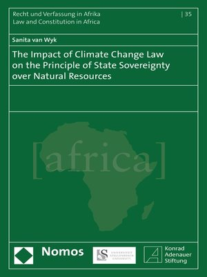 cover image of The Impact of Climate Change Law on the Principle of State Sovereignty Over Natural Resources