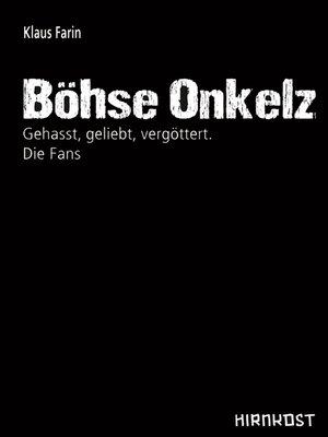 cover image of Böhse Onkelz