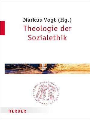 cover image of Theologie der Sozialethik