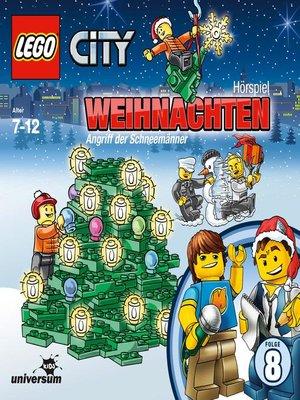 cover image of Folge 8--Weihnachten--Angriff der Schneemänner