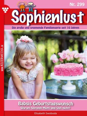 cover image of Sophienlust 299 – Familienroman