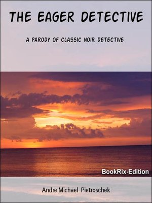 cover image of The Eager Detective