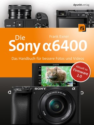 cover image of Die Sony Alpha 6400