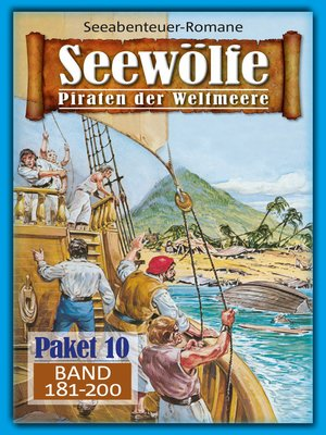 cover image of Seewölfe Paket 10