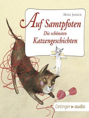 cover image of Auf Samtpfoten. Die schönsten Katzengeschichten
