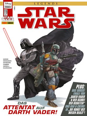 cover image of Star Wars Comicmagazin, Band 119--Darth Vader und der Schrei der Schatten 3