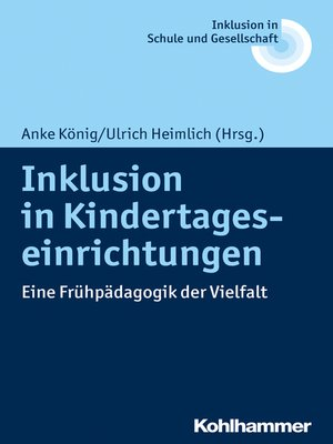 cover image of Inklusion in Kindertageseinrichtungen
