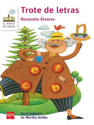 cover image of Trote de letras