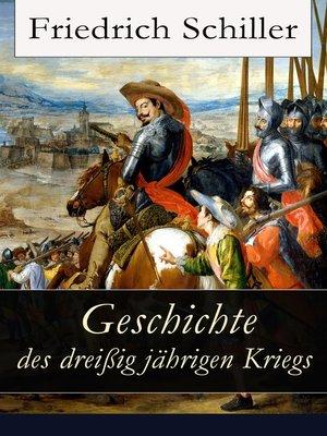 cover image of Geschichte des dreißigjährigen Kriegs