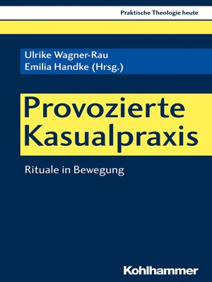 cover image of Provozierte Kasualpraxis