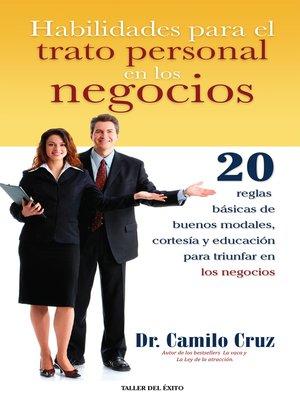 cover image of Habilidades para el trato personal en los negocios