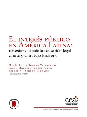 cover image of El interés público en América Latina