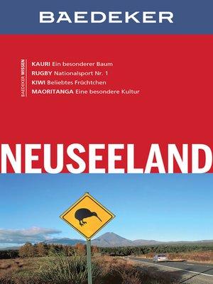 cover image of Baedeker Reiseführer Neuseeland