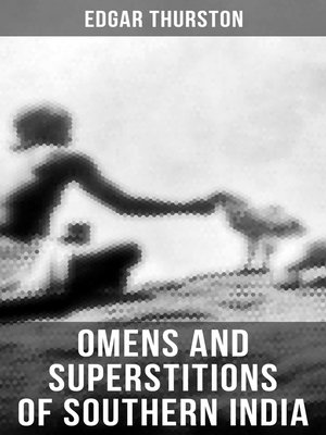 cover image of OMENS AND SUPERSTITIONS OF SOUTHERN INDIA