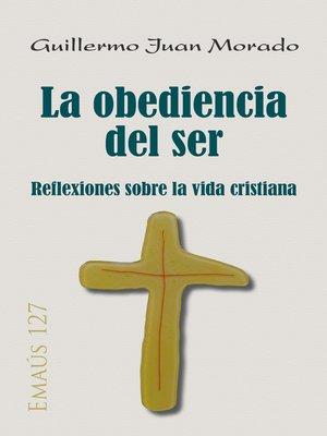 cover image of La obediencia del ser