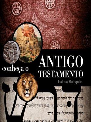 cover image of Conheça o Antigo Testamento (aluno)--volume 2